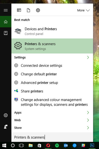 windows-10-printer-cortana