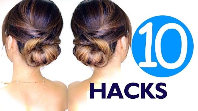 10 hair hacks for summer