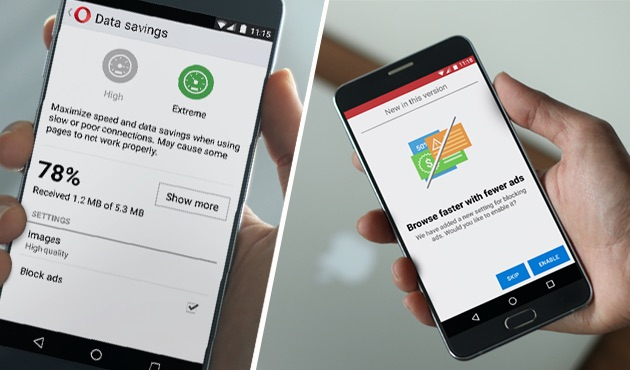 Adblock on Android phones