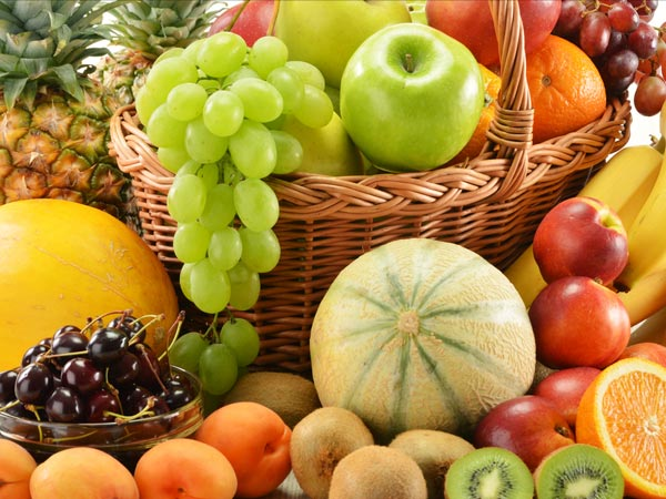 Eat more fruits in Summer