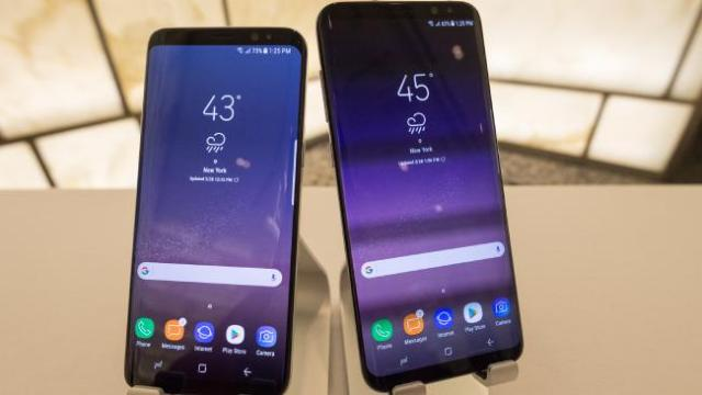 Samsung S8 and S8 plus