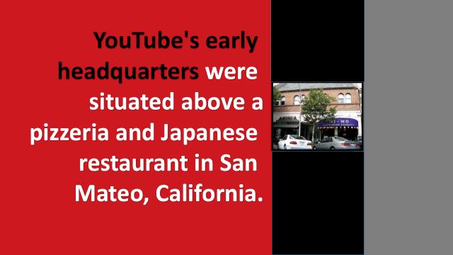YouTube Early HeadQuarters