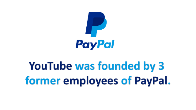 Paypal Former Employees Founded YouTube