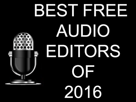 audio editors