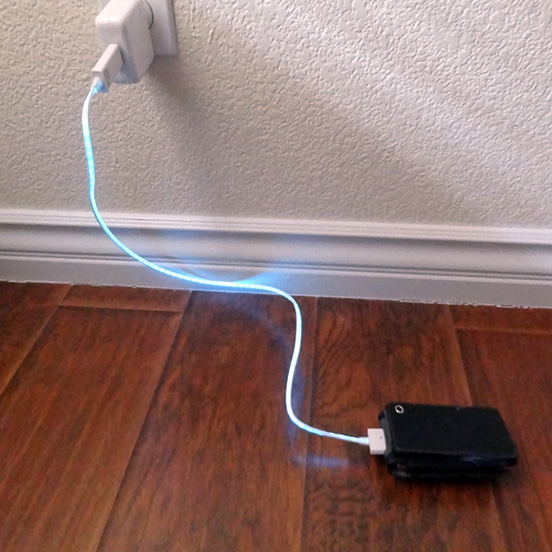 Illuminating Charger by Dexim