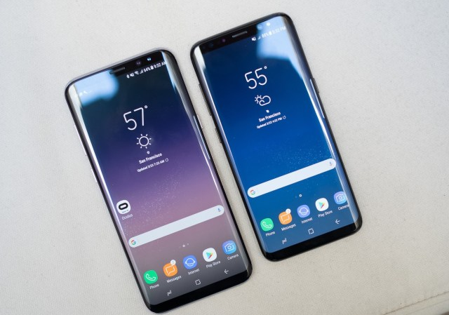 S8 and S8+