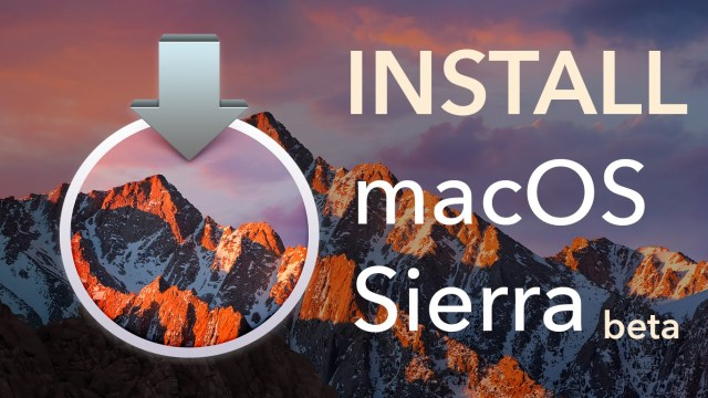 How to Download and Install macOS Sierra Beta without Developer Account