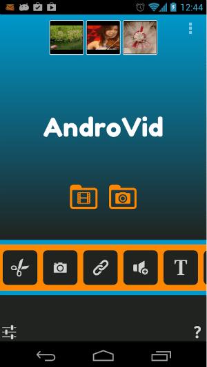 AndroVid-Video-Editor