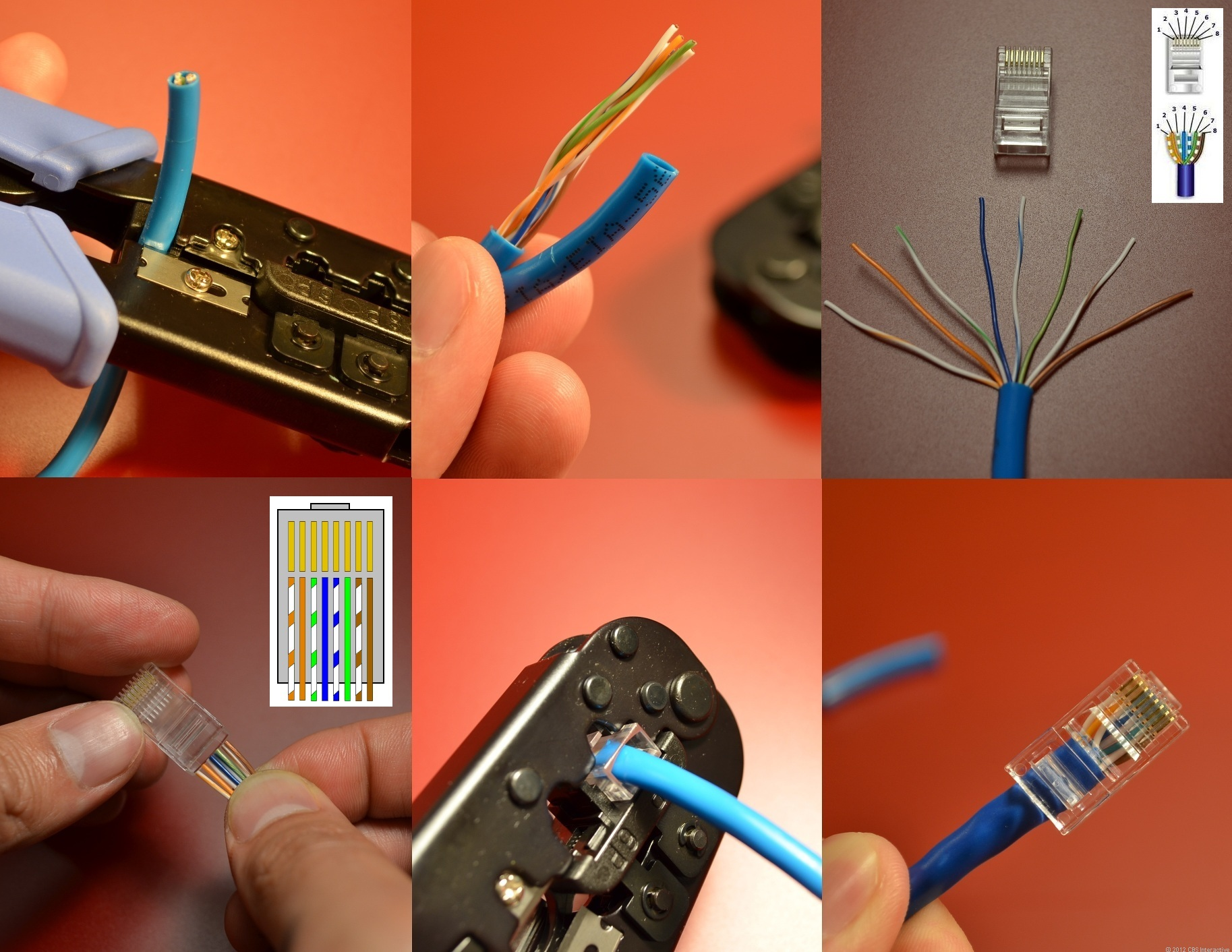 Ethernet Cable Crimper for DIY Your Own Ethernet Cables