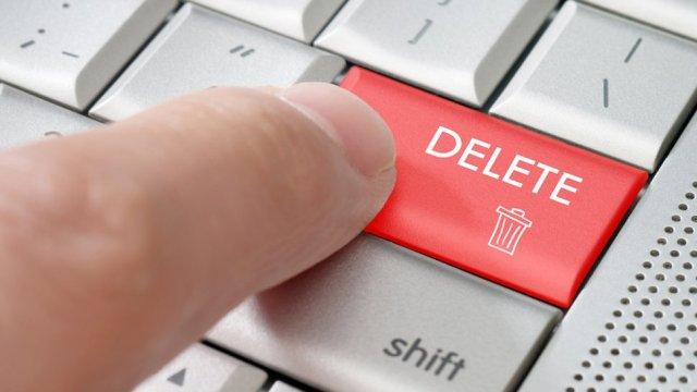 Delete The Programs