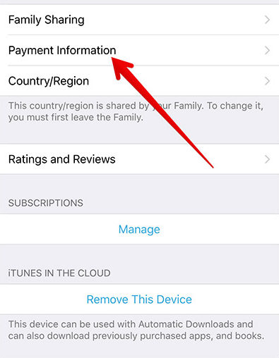 Tap-on-Payment-Information-on-iPhone
