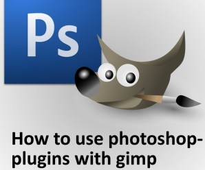 A Simple Way To Use Photoshop Plugins In GIMP