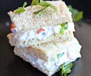Veg Mayo Sandwich Recipe: A Simple Preparation