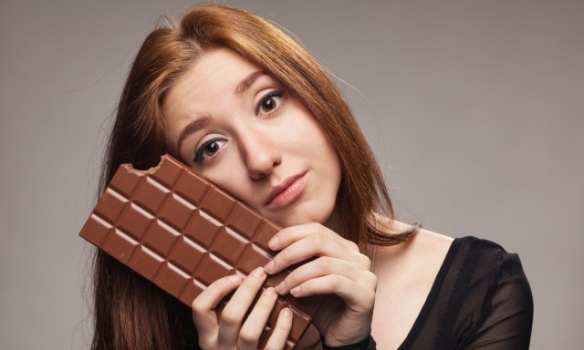 Eating more chocolate gives blackheads