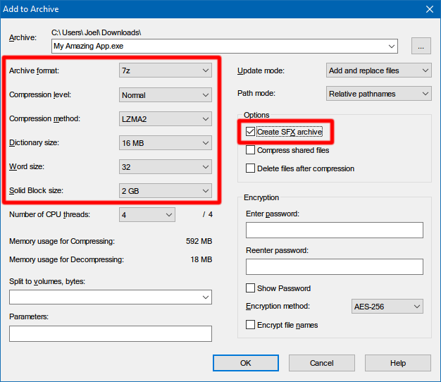 create-installer-7zip