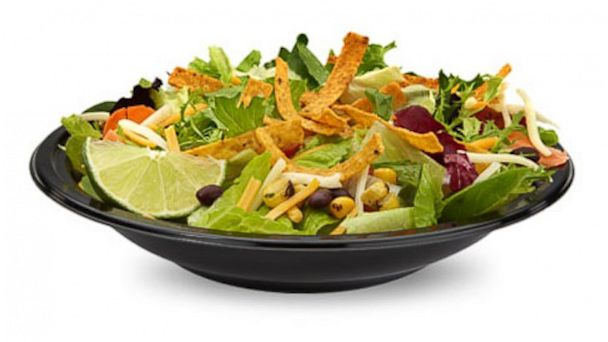 salads are healthy fast foods