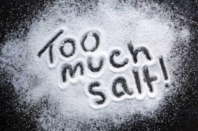 salt increases blood pressure