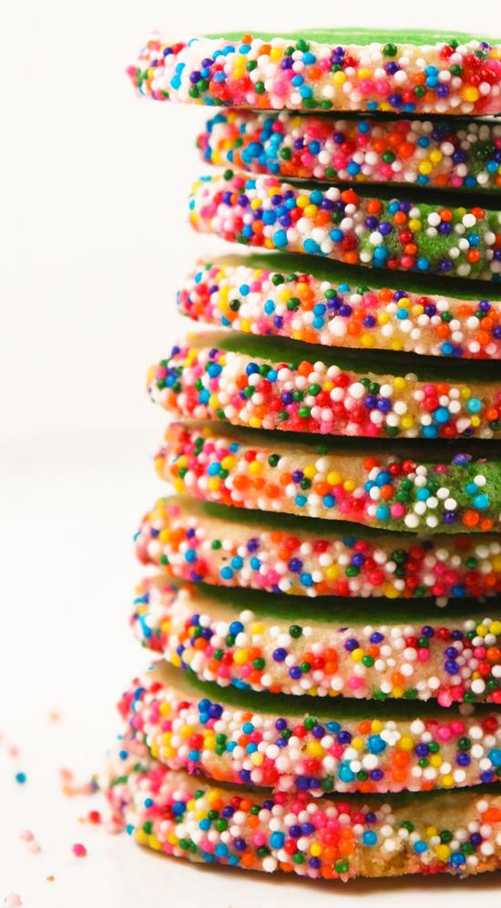 sprinkle sugar cookie