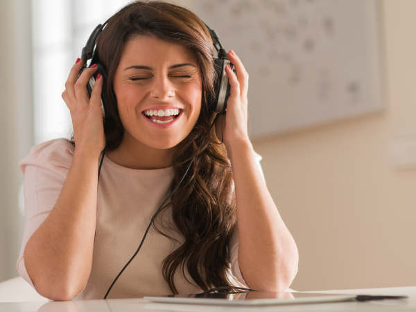 Hear Music to reduce stress
