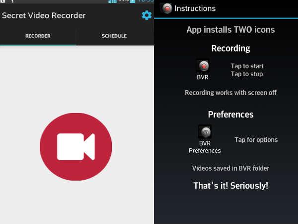 Secret Video Features