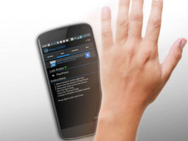 Smartphone Gesture Controls