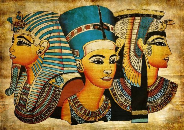 Cleopatra Married her two brothers