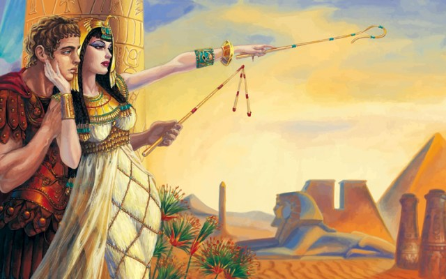 Marc Anthony and Cleopatra