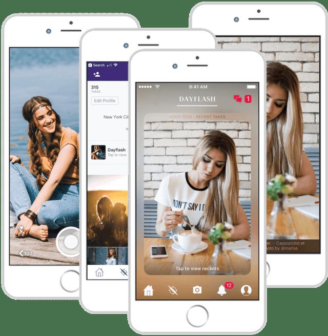 DayFlash App - Instagram Alternative