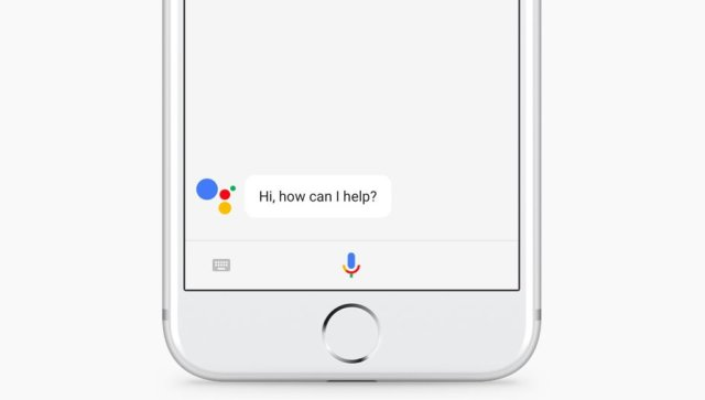 Google Assistant on iOS Reservations Section