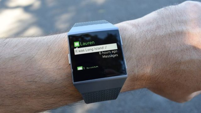 reply SMS message in smartwatch.