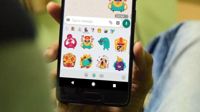 WhatsApp Sticker Feature