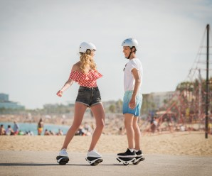 Segway announces its motorized, self-balancing e-skates