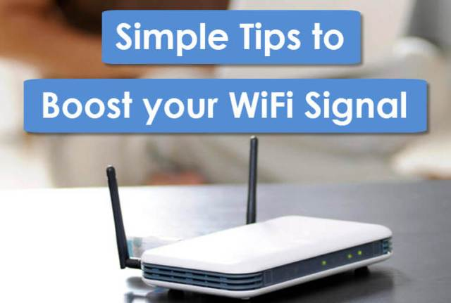 boost your WiFi Signal