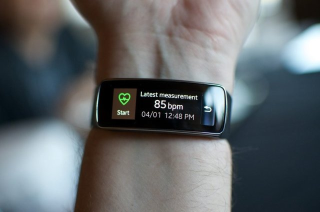 TomTom Touch Activity Tracking
