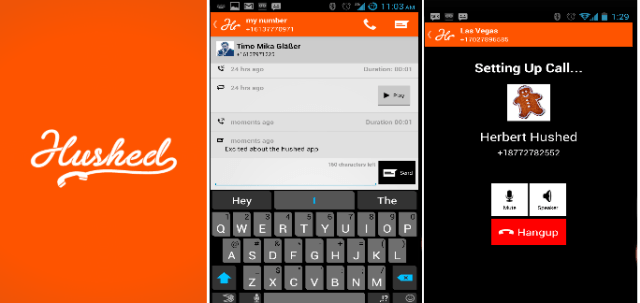 Hushed-app