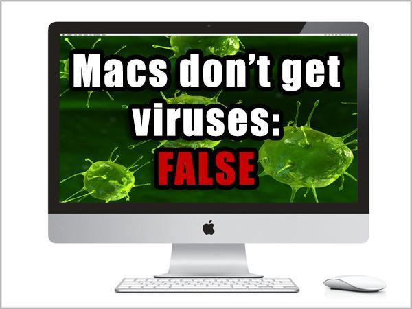 Mac computers cant get the virus