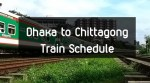 Dhaka to Chittagong Train Time Schedule and Ticket Price 2020