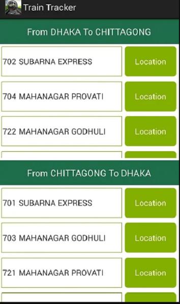 Train Tracker Apps