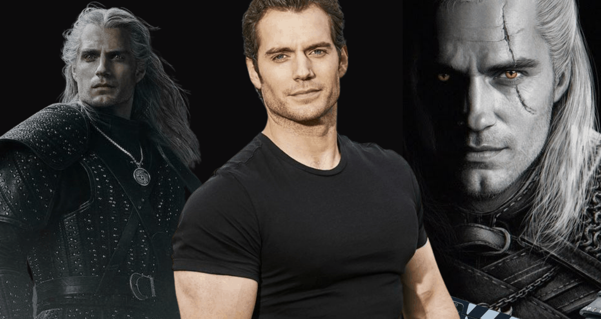 Henry Cavill -Witcher