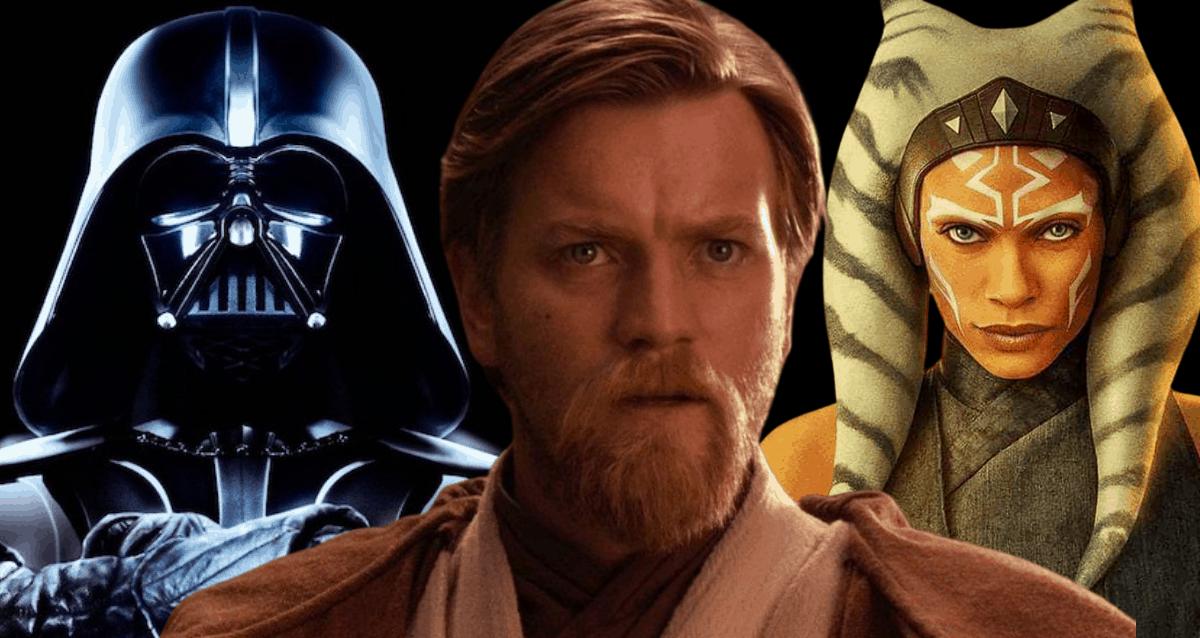 Darth Vader, Obi-Wan Kenobi And Ahsoka