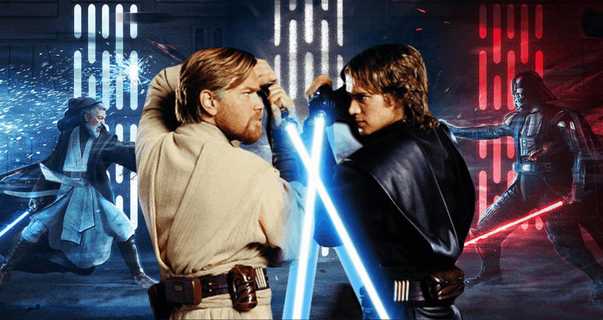 Darth Vader Vs Obi-Wan Kenobi