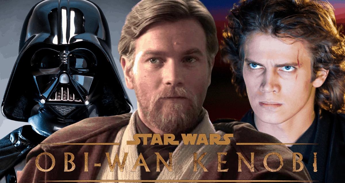 Obi Wan Kenobi, Anakin Skywalker And Darth Vader