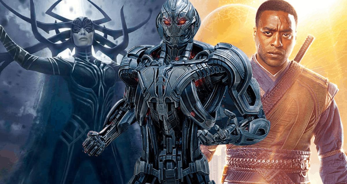 MCU Villain - Hela, Ultron and Mordo