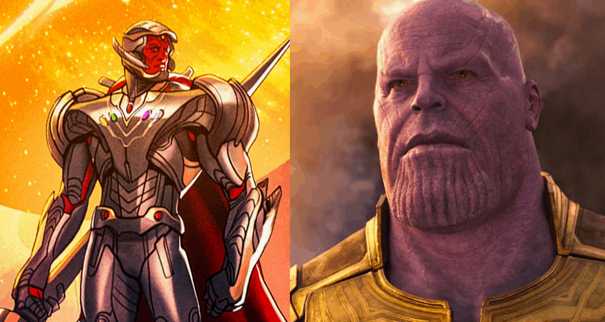 Ultron And Thanos