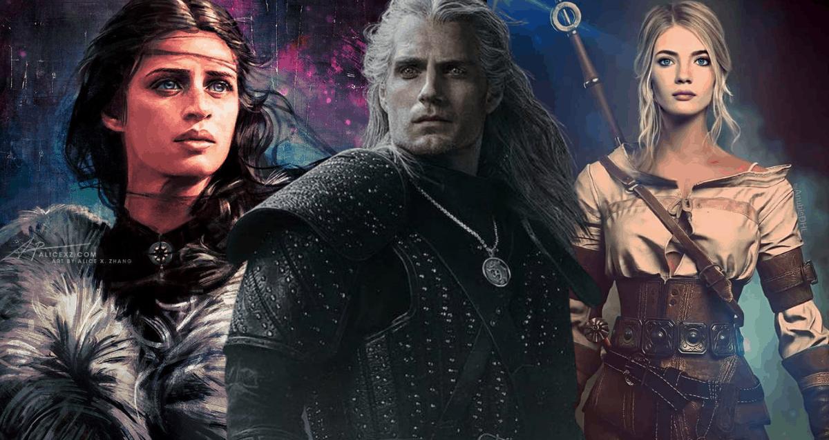 Geralt, Yennefer And Ciri In Witcher Season 2