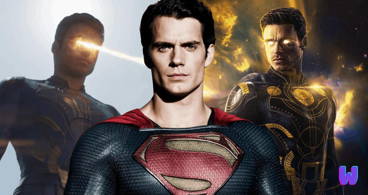 Ikaris Eternals And Superman
