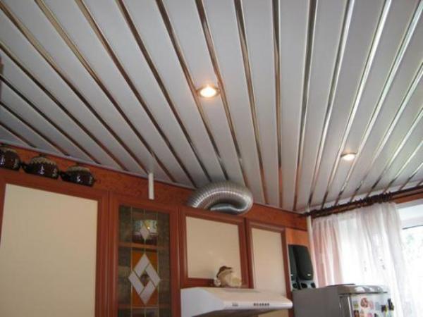 Панели На Потолок Фото На Кухне