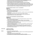 Business Analyst Resume Business Analyst Reporting Analyst Resume Sample business analyst resume|wikiresume.com