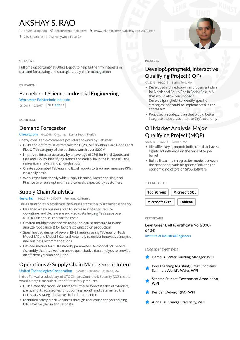 Example Of Resume The Ultimate 2019 Resume Examples And Resume Format Guide
