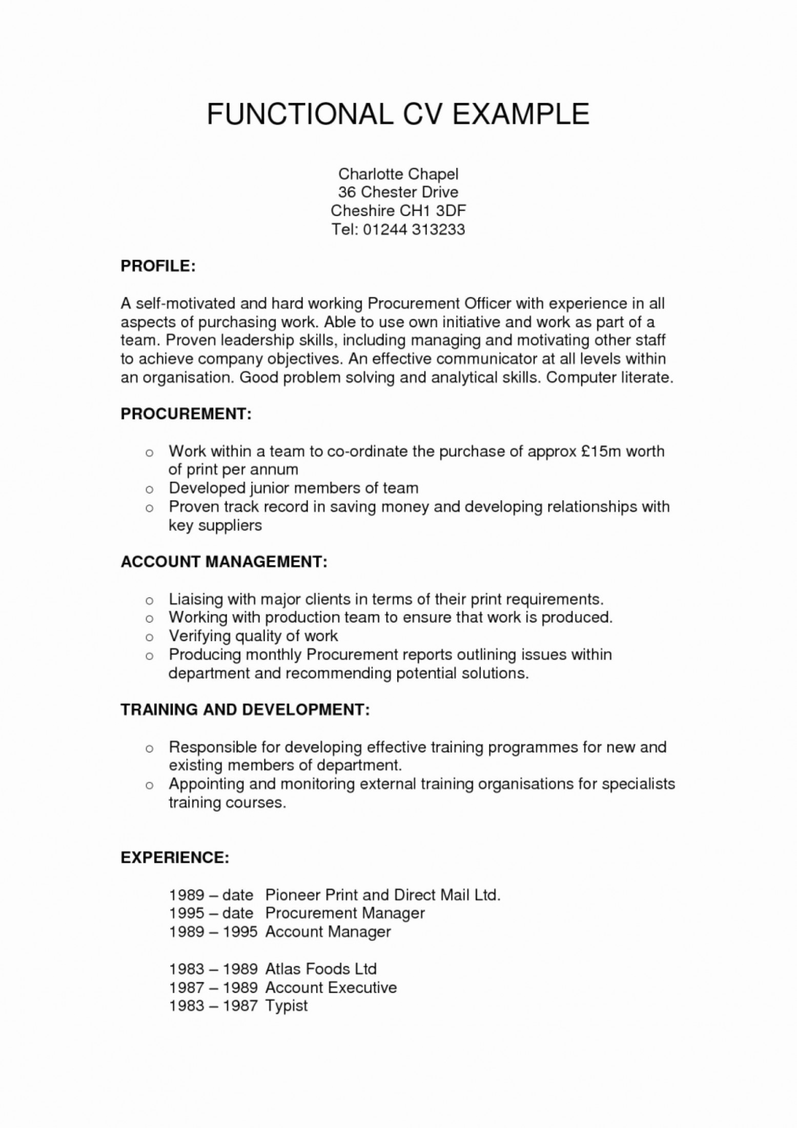 Functional Resume Template Functional Resume Template Free Simple Template Design Template Functional Resume functional resume template|wikiresume.com